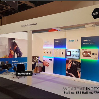 Our Stall in Index Exhibition
